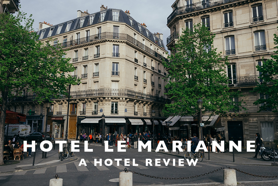 hotel le marianne paris hotel review