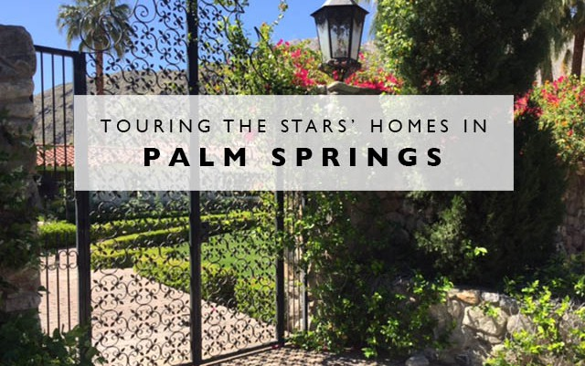 Touring the Stars' Homes in Palm Springs