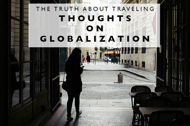 thoughts on globalization