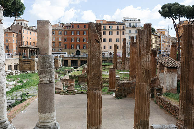 ruins in Roma