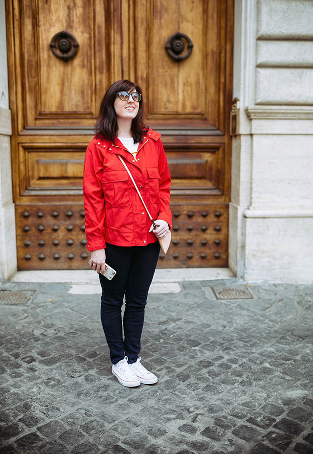 outfit for Rome in Spring
