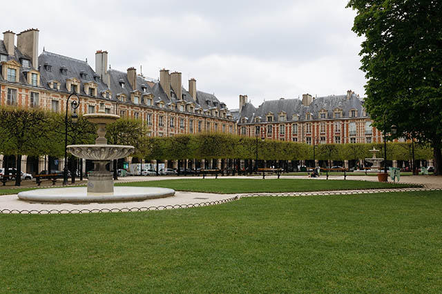 Place des Vosges  lesser known things to do in Paris