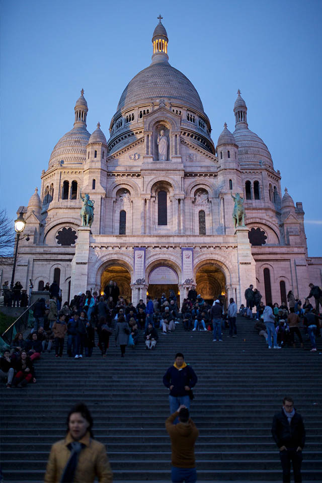 Sacre Coeur top things to do in Paris