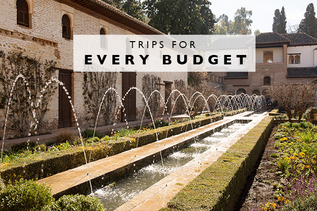 trips for every budget