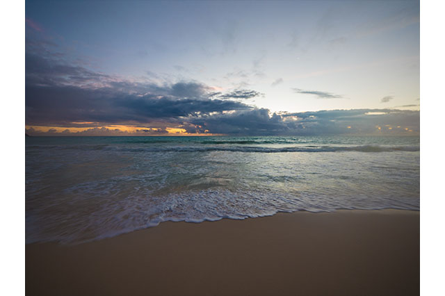 sunrise in Waimanalo Hawaii