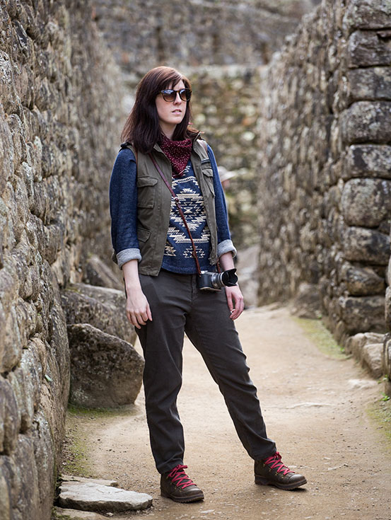 travel outfit for Machu Picchu