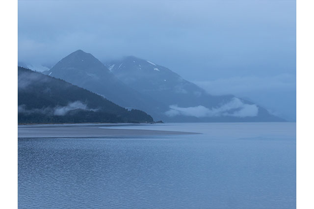 driving the Seward highway Alaska