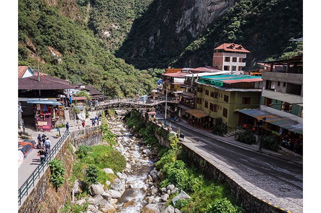 a few hours in aguas calientes
