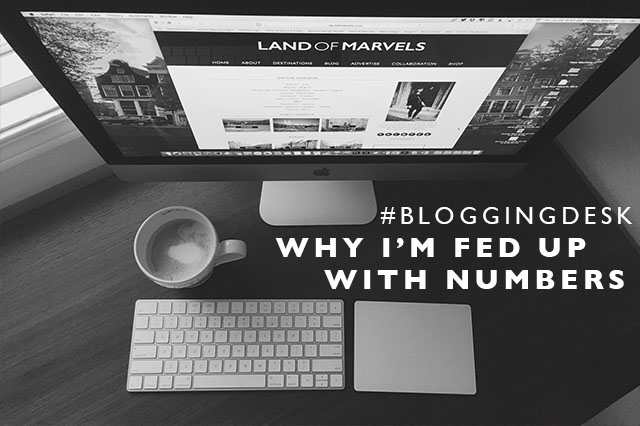 blogging numbers and views