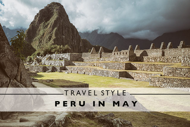 travel style for Peru