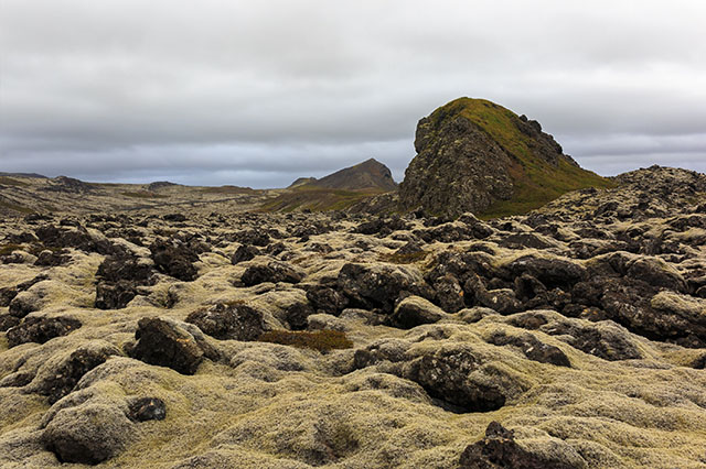 lava rock in Iceland
