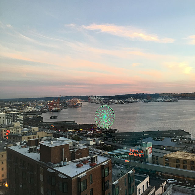 Thompson Hotel seattle review views