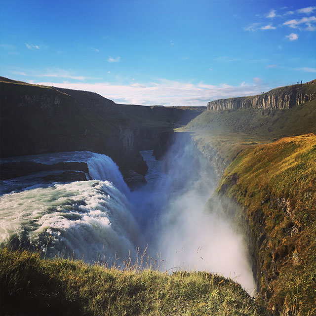 September morning at Gullfoss