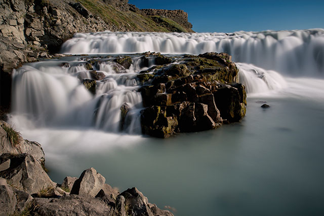 photography at Gullfoss Iceland