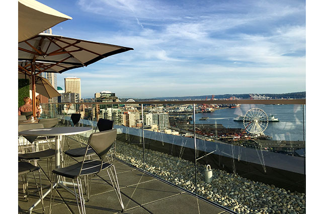 roofdeck at Thompson Seattle