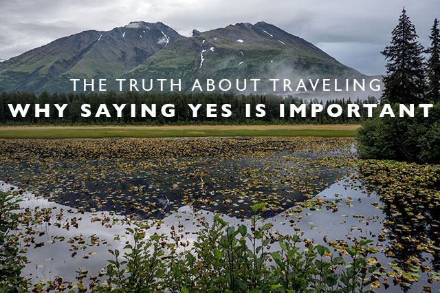 why saying yes is important
