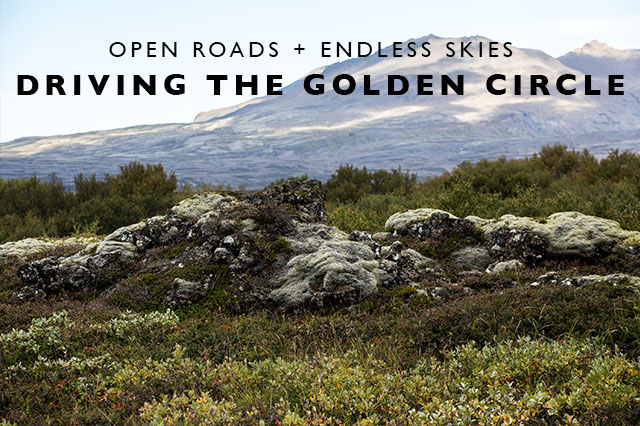 Driving the Golden Circle Iceland