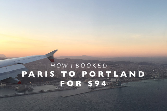 Paris to Portland
