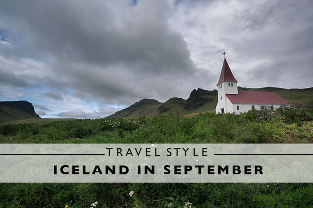 travel style for Iceland