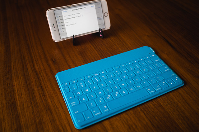 Logitech Travel Bluetooth Keyboard