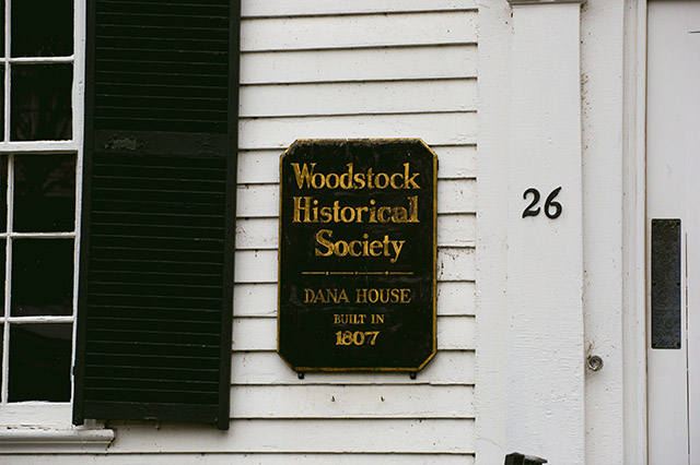 Woodstock Historical Society in Woodstock Vermont