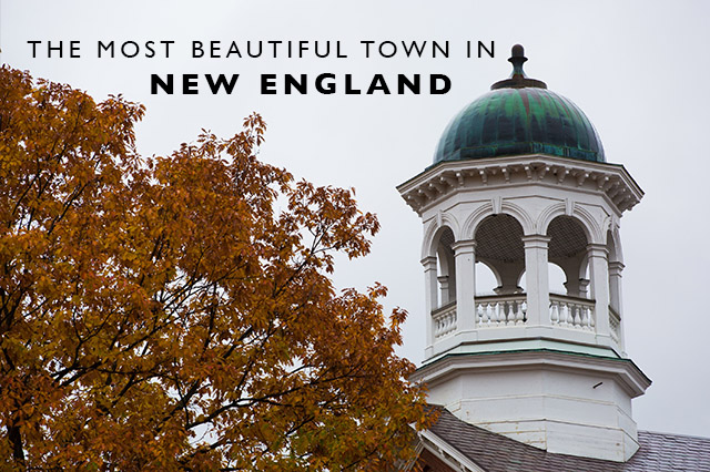 most beautiful town in New England