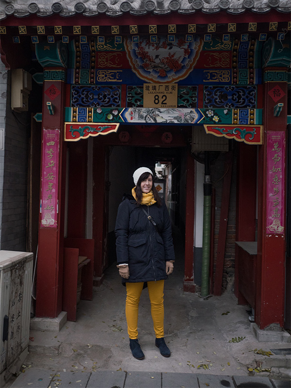 outfit for Beijing in Winter