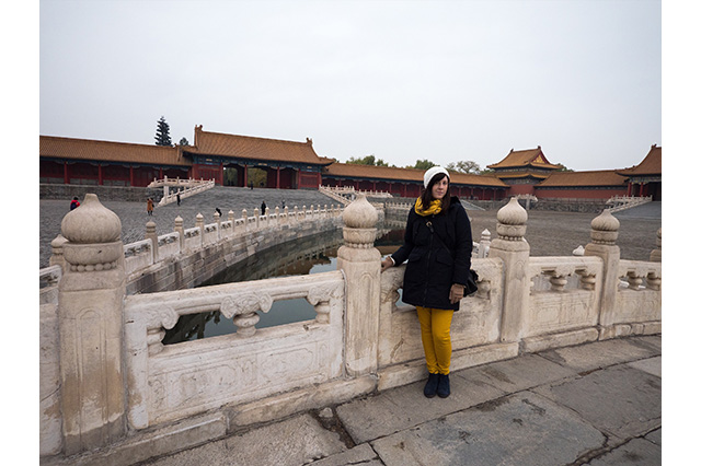 morning in the forbidden city Beijing
