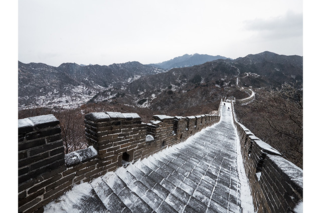 Winter at the Great Wall of China