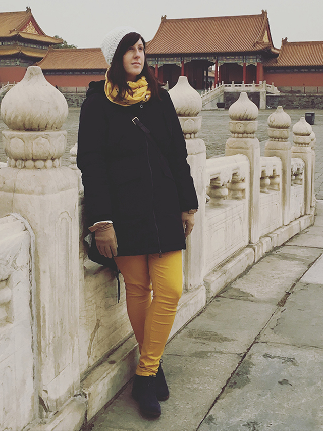 outfit for China in Winter
