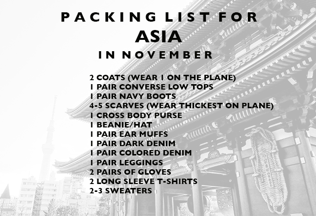 packing-list-for-asia-in-winter