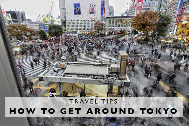 tips for how to get around Tokyo