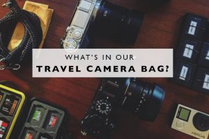 What's in Our Travel Camera Bag?