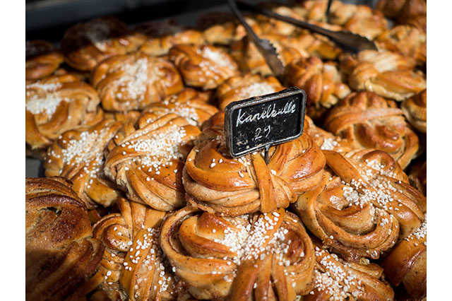 kanelbulle at Fabrique Stockholm