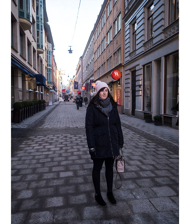 outfit for Stockholm in Winter