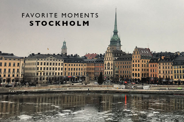 favorite moments stockholm