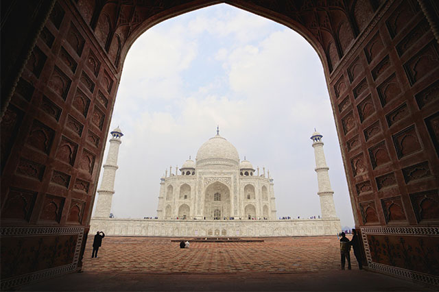 how to see the Taj Mahal