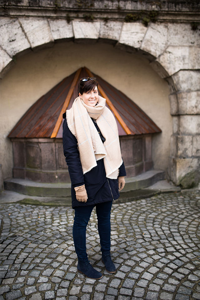travel outfit for Munich in winter