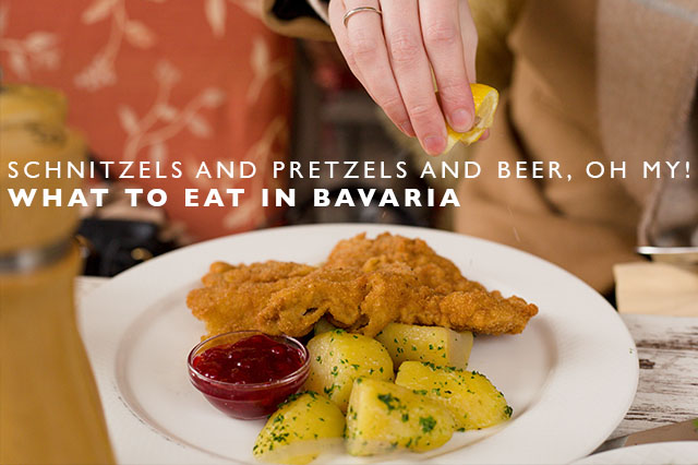 what to eat in Bavaria