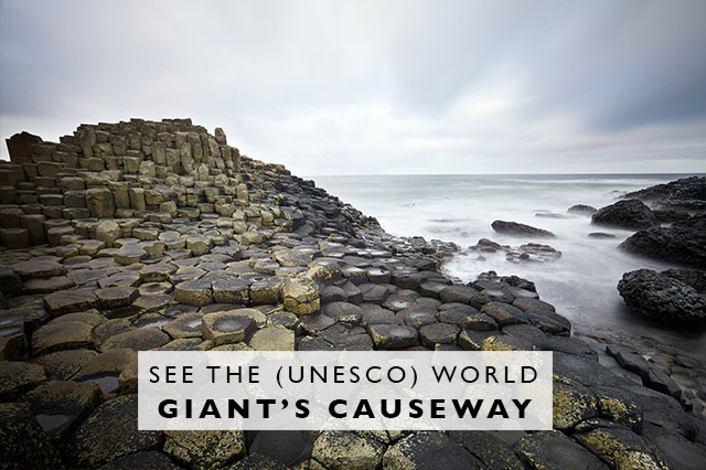 how to see Giants Causeway