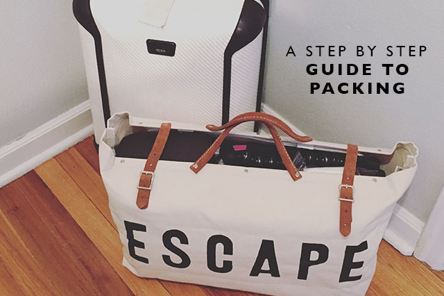 step by step guide to packing