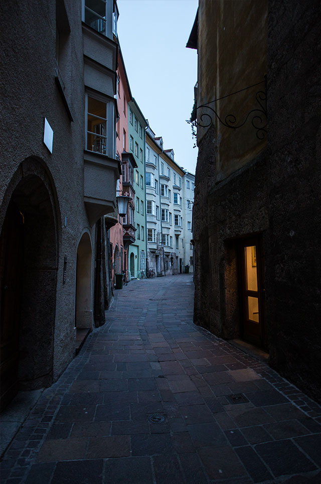 evening in Innsbruck