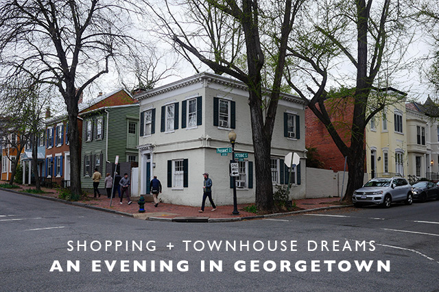 an evening in Georgetown