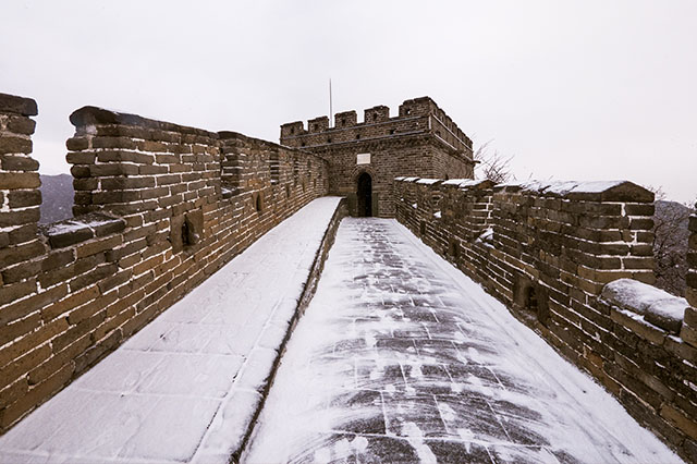 avoid the crowds at the Great Wall of China