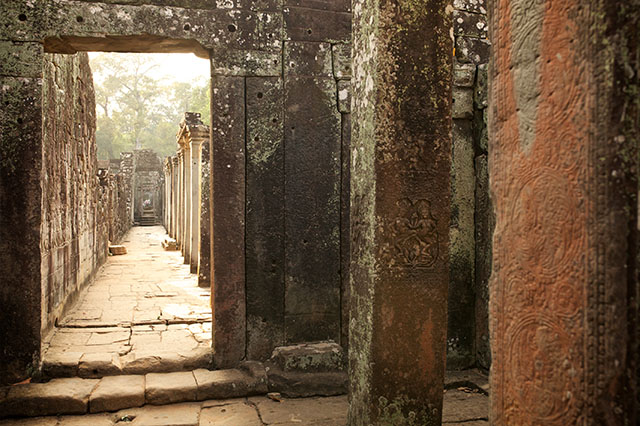 avoid the crowds at Angkor Was