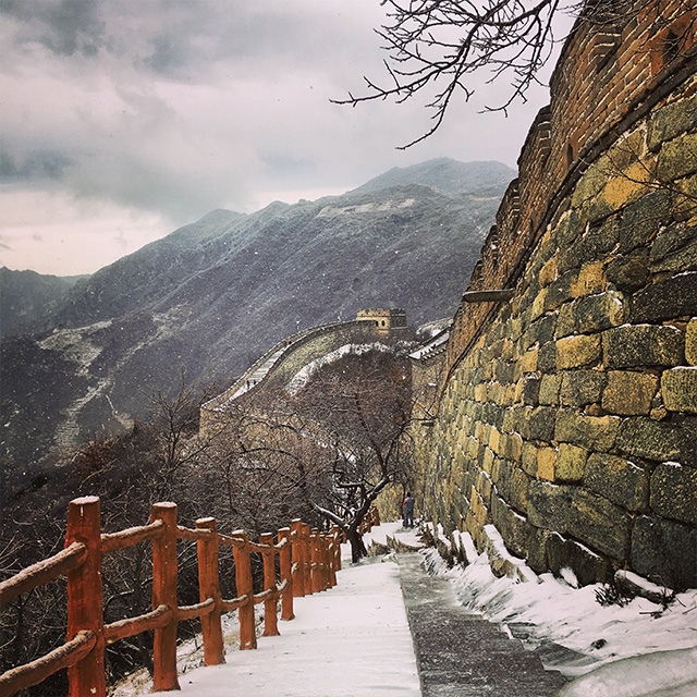 Great Wall of China in theSnow