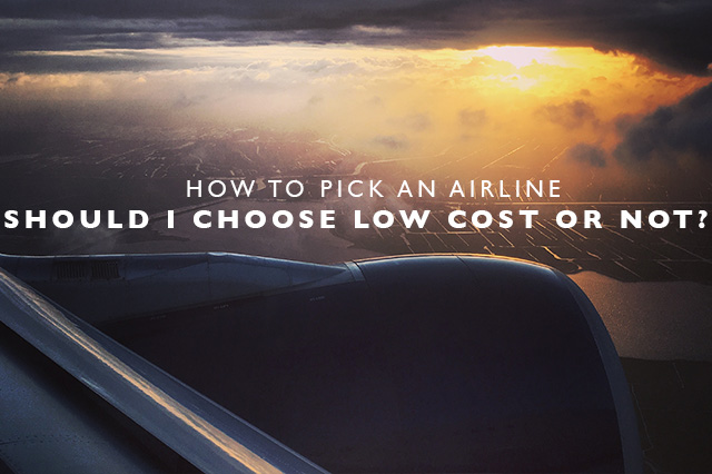 how to pick an airline