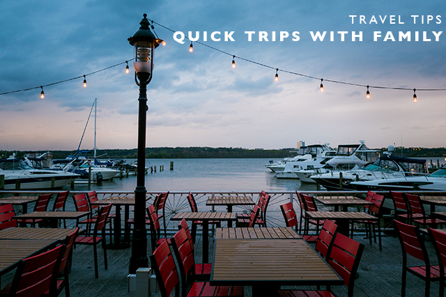 tips for quick trips with family