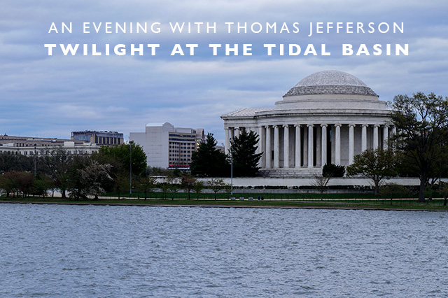 twilight at the Tidal Basin