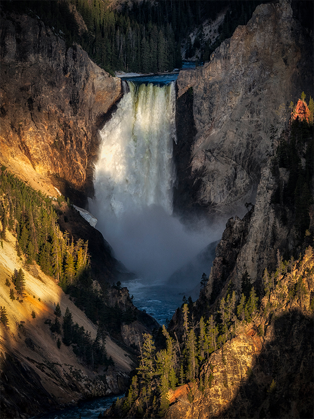 Artist Point, Grand Canyon of the Yellowstone, Yellowstone National Park